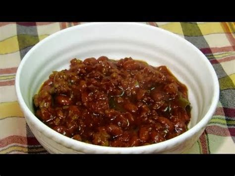 how to make baked beans how to make baked beans bbq baked beans recipe youtube