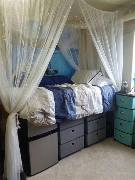 dream dorm room   life bedding shelves  canopy
