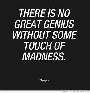 64 Beautiful In... Madness And Brilliance Quotes