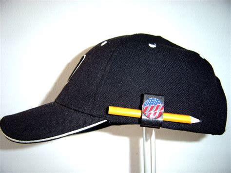 Hat Clip Hat Clip With Golf Marker Pencil Holder Nifty