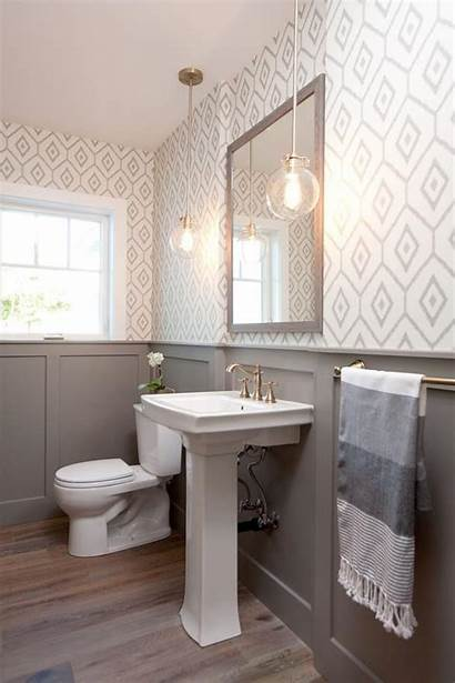 Bathroom Half Gray Decorating Budget Gongetech