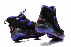 "2017 Nike LeBron Soldier 11 ""Flip the Switch"" Purple Black ..."