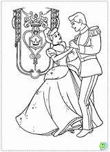 Coloring Cinderella Dinokids Pages Princess Close sketch template