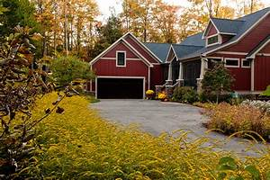 Image of: Ultimate Fall Makeover Easy Budget Friendly Outdoor Project Driveway Design With Your Own Style