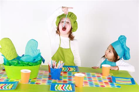 Kitchen Decorations Ideas Theme - cooking themed kid 39 s birthday party on a budget