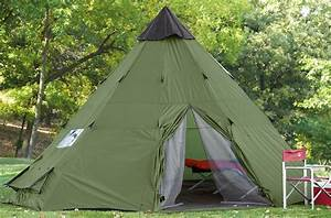 Tipi Little Nice Things : guide gear 10x10 39 teepee tent survival spot ~ Preciouscoupons.com Idées de Décoration