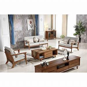 european modern latest simple style living room furniture With simple wood living room furniture design