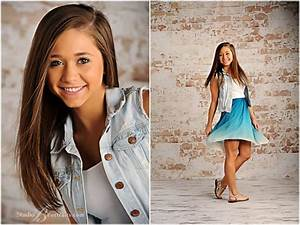 Senior pictures of girl spinning in blue dress next to ...