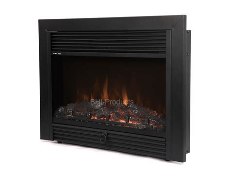 28 Electric Firebox Fireplace Insert Room Heater Patented