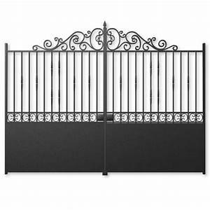 Portail En Fer Lapeyre : portail battant acier rambouillet fer forg pinterest ~ Premium-room.com Idées de Décoration