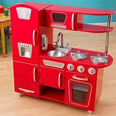 Kidkraft Red Vintage Play Kitchen  53173  Play Kitchens