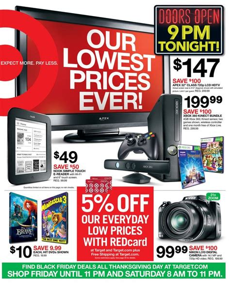 This card has no annual fee, but take note that it has a very high interest rate, which is common among store credit cards. Target Black Friday Ad Flyer   Black friday target, Black friday ads, Black friday preview