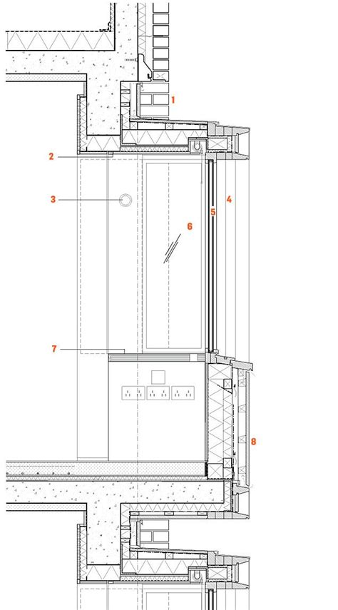 concrete wall section detail - Google Search | Drawing and
