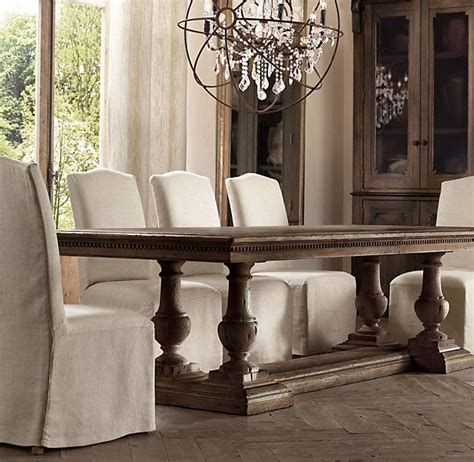 restoration hardware st james table st james rectangle dining tables dining room