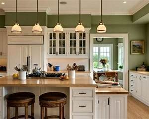 15 green kitchen cabinets design photos ideas With kitchen colors with white cabinets with art for the office wall