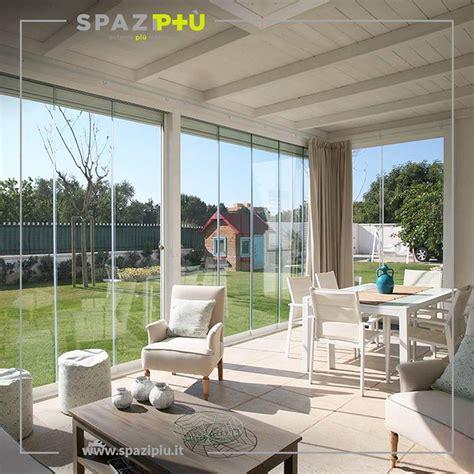 verande scorrevoli per balconi vetrate scorrevoli per la chiusura di verande portici