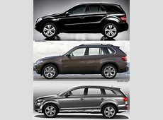 Comparison BMW X5 LCI vs Audi Q7 vs MercedesBenz ML