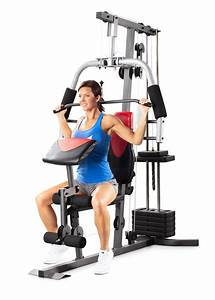 Weider Complete Home Gym With 214 Pounds Of