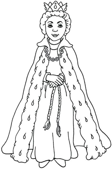 queen drawing  kids  getdrawingscom