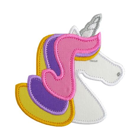 Machine Applique Designs by Unicorn Applique Machine Embroidery Designs Patterns