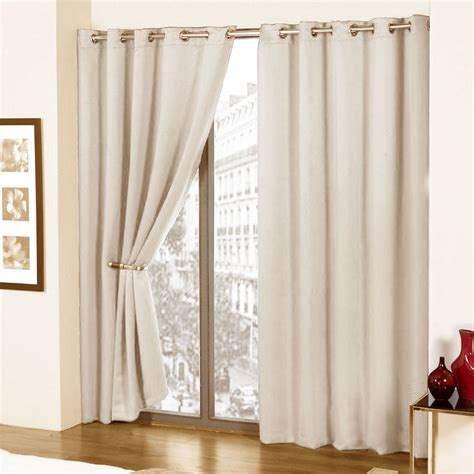 comfytex fully lined faux silk lined curtains with eyelet