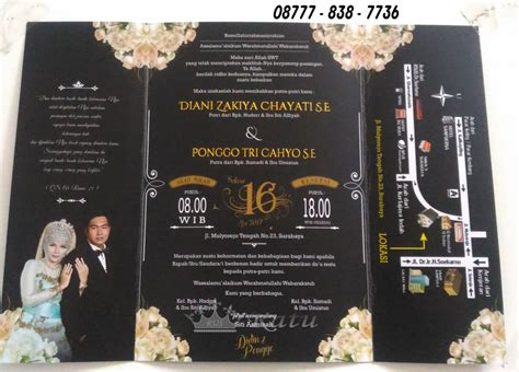 undangan pernikahan nusantara desain bebas ratu undangan