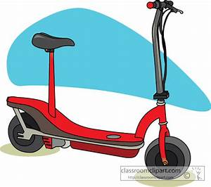 Clip Art Electric Scooter Clipart - Clipart Suggest