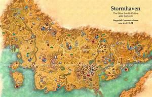 Stormhaven Map - The Elder Scrolls Online game-maps com