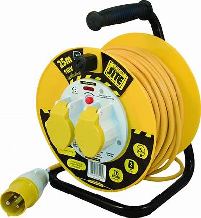 Reel Cable Power 110v Site Electrical Nexus