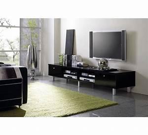 Meuble Tele Moderne : grand meuble t l moderne laqu cachou 2473 ~ Teatrodelosmanantiales.com Idées de Décoration