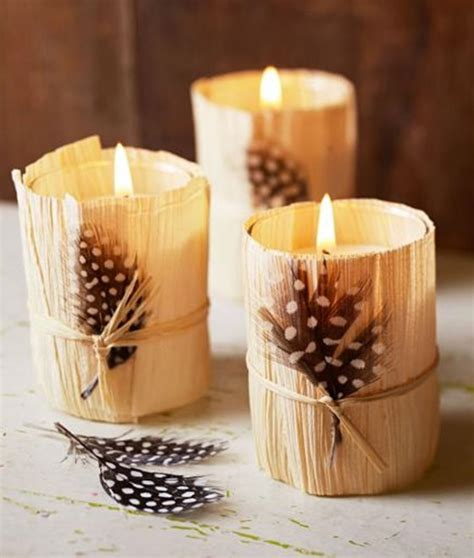 Candle Corn Wrap by 31 Days Of Fall Inspiration Decorating With Corn