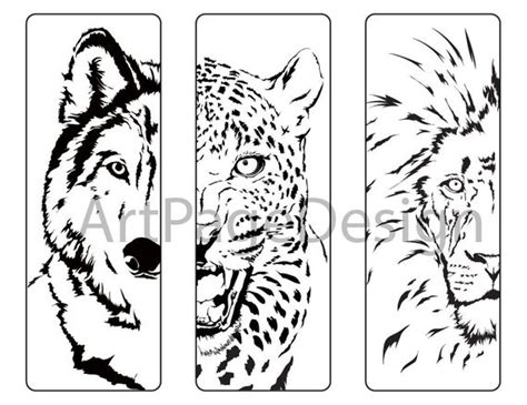 soloring pages animals wolf cheetah lion coloring pages