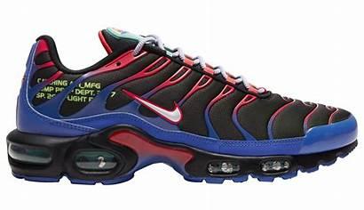 Nike Max Air Plus Sneakers Parachute Side