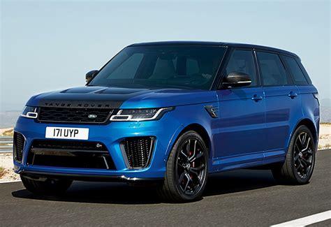 Range Rover Svr 2018 by 2018 Land Rover Range Rover Sport Svr Specifications