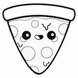 Pizza Coloring Pages Animationsa2z sketch template