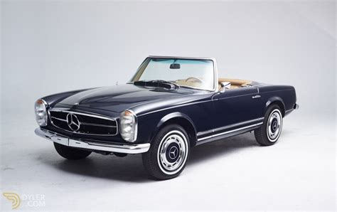 Since 1975 it has been with the same owner. Classic 1968 Mercedes-Benz 280 SL Pagoda with hardtop for Sale - Dyler