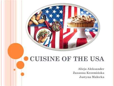 cuisine usa cuisine of the usa