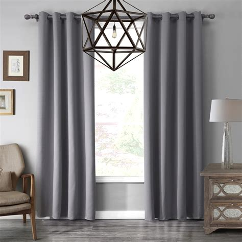 modern curtains for grey living room aliexpress buy 1 modern 7color blackout fabric