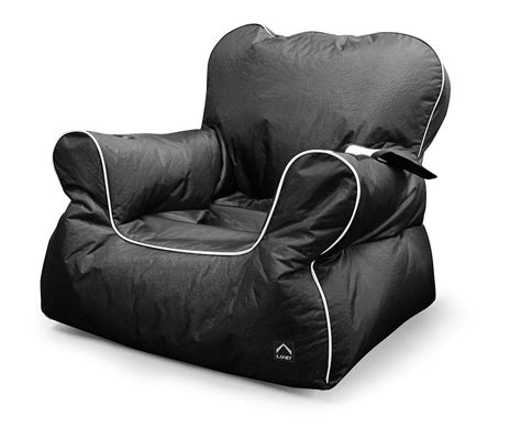 chill out bean bag black