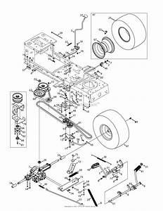 Mtd 13al78xt099  247 203744   T1600   2015  Parts Diagram For Drive  U0026 Rear Wheels