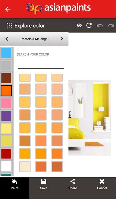 asian paints color visualiser asian paints color visualizer android apps on play