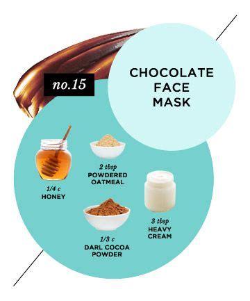 homemade face masks     glow chocolate