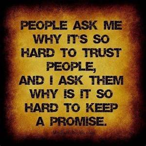 Broken promises | quotes | Pinterest
