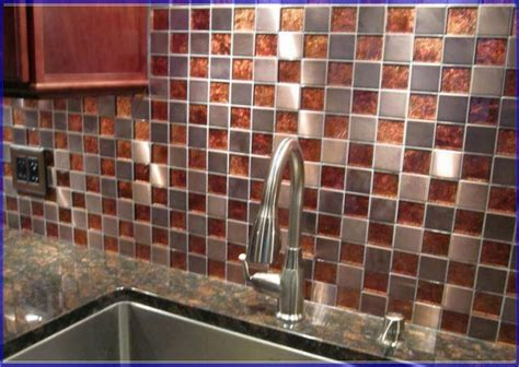 copper tiles for kitchen backsplash copper kitchen backsplash ideas quicua com