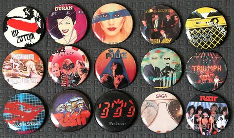 80s Music Rock Pins Photograph by Jt PhotoDesign