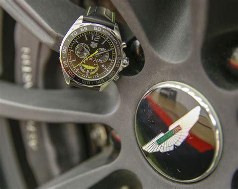 tag heuer special aston martin chronographs