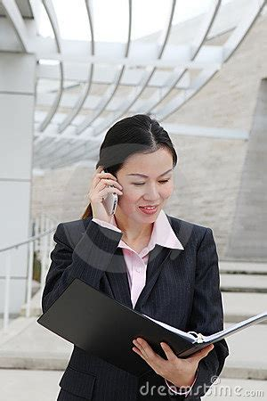 pretty chinese business woman royalty  stock photo