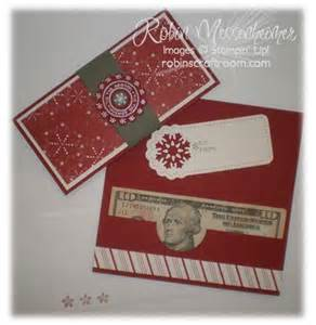 Christmas Money Holder Card