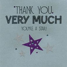 """Thank You Very Much  You're A Star!  """"thank You"""" Words & Sayings  Gratitude, Your Word, Home"""