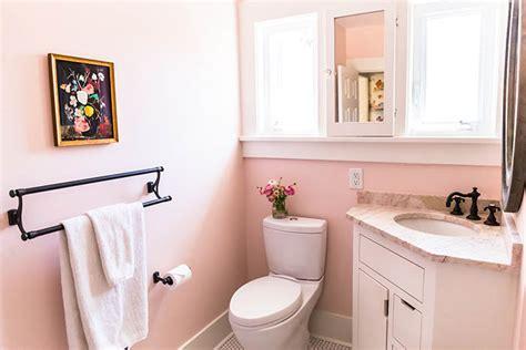hail  pink bathroom designsponge